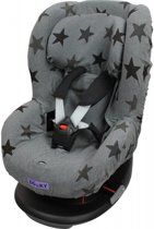 Dooky Seat Cover Groep 1 Autostoel hoes - Grey Star