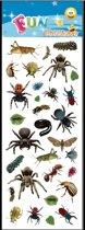 Halloween - Stickervel insecten