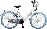Bike Fun Pure - Fiets - Meisjes - Wit;Blauw - 24 Inch
