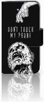 iPhone 4 | 4S Uniek Boekhoesje Zombie