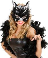 Kattenmasker voor volwassenen - Verkleedmasker