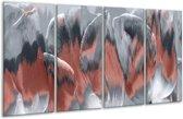 Glas schilderij Modern | Grijs | 160x80cm 4Luik | Foto print op Glas |  F007346