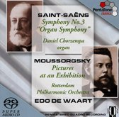 Saint-Saens: Symphony No. 3, Mussorgsky: Pictures at an Exhibition - Edo de Waart -SACD- (Hybride/Stereo/5.1)