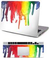 Macbook Sticker voor Macbook Retina 13 inch 2014 / 2015 - Sticker - Verf Druppels