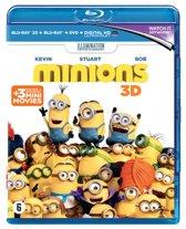 Minions (3D + 2D-blu-ray)