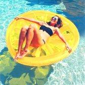 Opblaasfiguren - Inflatables Opblaasbare Citroenschijf - Geel  (160 x 160 cm)