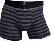 CR7 - Heren 3-Pack Bamboo Cotton Trunk Boxershorts Grijs Zwart - L