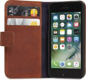 Decoded Leather Wallet Case met magneet sluiting voor iPhone 5 / 5s / SE Bruin
