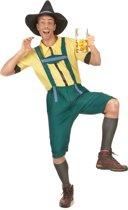 Groen en geel Beiers kostuum voor heren - Volwassenen kostuums
