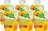 Olvarit Knijpzakje 12m865 Exotisch Mango - 6x90 gram - voordeelverpakking