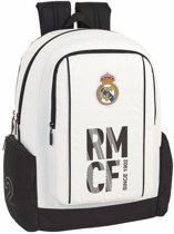 "Real Madrid - Rugzak - 43 cm - Laptop 15,6"" - wit"