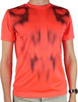 adidas F50 Climt Tee S88046, Mannen, Oranje, T-shirt maat: XS EU