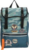Beagles Originals Airforce Rugtas - Blue Camouflage