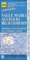 IGC Italien 1 : 25 000 Wanderkarte 111 Valle Maira