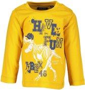 Blue Seven Jongens T-shirt - Geel - Maat 62