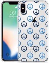 Apple iPhone Xs Hoesje Peace