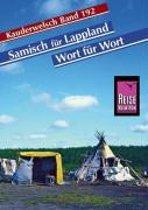 Samisch für Lappland. Wort für Wort. Kauderwelsch