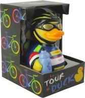 CelebriDucks TOUR DE DUCK  WIELRENNER EENDJE TOUR DE FRANCE   11cm  bekendste badeendjes merk uit de USA