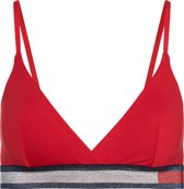 Tommy Hilfiger - Dames Triangle BH Rood