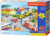 Road Junction puzzel 40 maxi stukjes