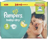 Pampers Luiers Baby Dry Size 3 Midi (5-9kg)