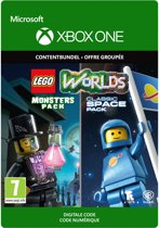 LEGO Worlds: Classic Space Pack & Monsters Pack - DLC - Xbox One