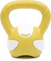 Kettlebell yellow/white 5kg Krachtapparaataccessoire YOGISTAR
