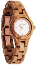 De officiële WoodWatch | Blossom | Houten horloge dames