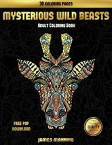 Adult Coloring Book (Mysterious Wild Beasts)