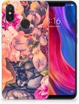 Xiaomi Mi 8 TPU Case Bosje Bloemen