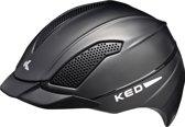 KED Allegra L black matt helm met hoofdomtrek: 57-63 cm