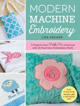 Modern Machine Embroidery