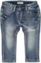 jongens Broek Babyface Jongens Jeans - Blauw - Maat 68 8717533751393
