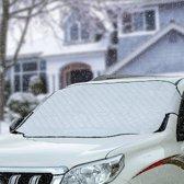 LifeGoods Luxe Anti Vries Deken - Hoes - Wering - Beschermer - Scherm - Afdekzeil - Sneeuw - Vorst - IJs - Warmte - Zon - Voorruit Folie - Auto - Multifunctioneel - 92 cm x 142 cm
