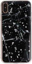 iPhone XS Max Marble Zwart   Print Hardcase    WN™