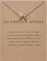 Guardian Angel Ketting - Vleugels aan hanger ketting - Geluksketting - Engel