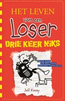 Omslag van 'Het leven van een Loser 11 - Drie keer niks'