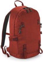 Rode rugzak/rugtas voor wandelaars/backpackers 20 liter - Rugtassen voor op reis - Backpacken - Wandelen