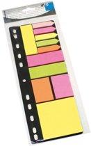 Info Sticky Notes 3 kleuren diverse formaten