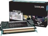 X746, X748 tonercartridge zwart standard capacity 12.000 pagina's 1-pack
