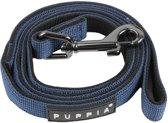 Puppia Hondenlijn - Marine Blauw - M: 15 mm x 122 cm