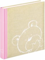 Walther Design UK-151-R Dreamtime - Babyalbum - 28 x 31 cm - Roze - 50 pagina's