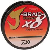 Gevlochten Lijn Daiwa J-Braid Grand X8 135m 0.06mm