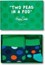 Happy Socks Two Peas in a Pod Giftbox - Maat 36-40 & 0-12 maanden