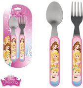 Disney Princess/Prinsessen Kinder bestek set - Kunststof