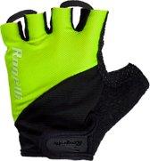 Rogelli Ducor Fietshandschoenen - Unisex - Zwart/Geel