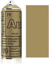 Spray.Bike Messing Gouden Fietsframe Spuitverf - Frame Builder's Metal Plating - Brass Gold - 400ml Spuitbus