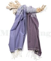 Hamamdoek Strandlaken Saunadoek Paars - Splash Violet Purple