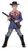 Cowboy blouse voor kinderen 140
