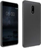 Nokia 6 Transparant TPU Siliconen Case smartphone hoesje